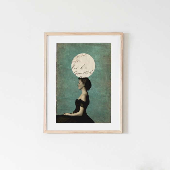 Balancing Perfection, mixed media wall art