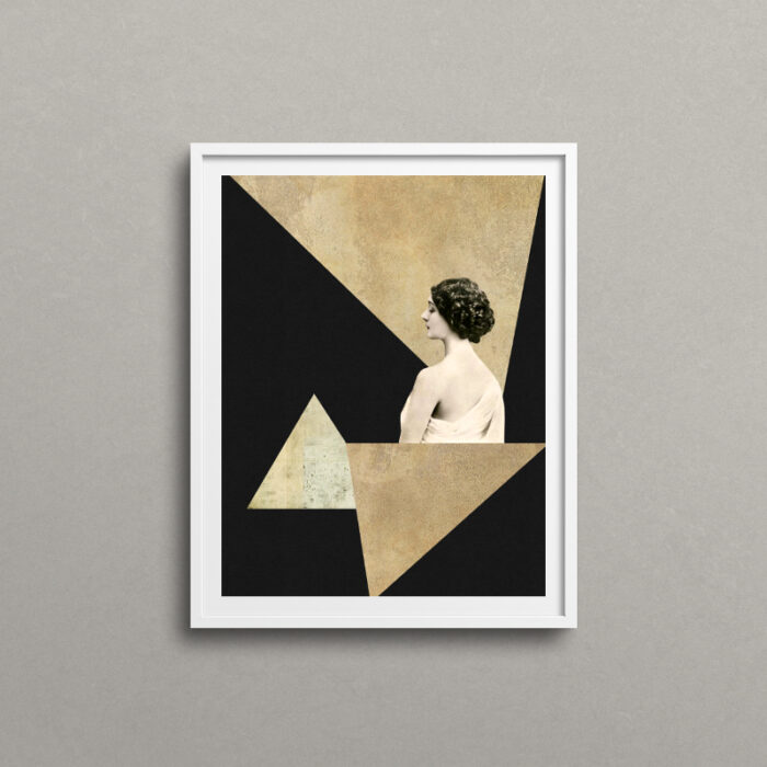 Mirage, art deco artwork