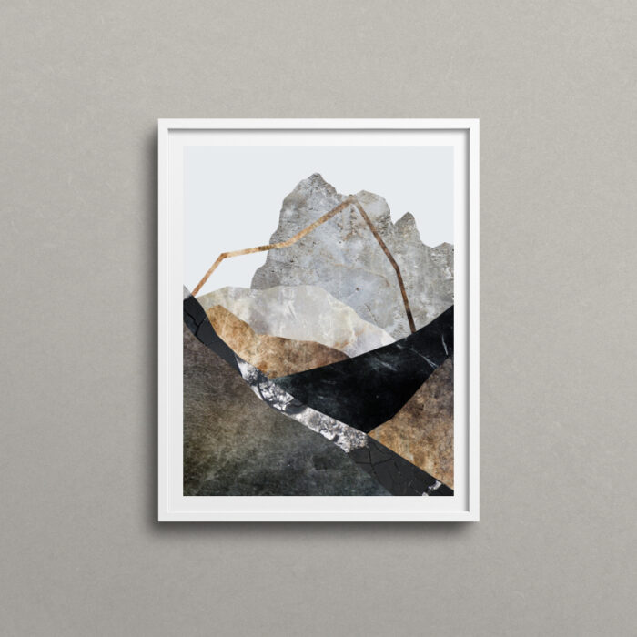 Awaken, mountain art