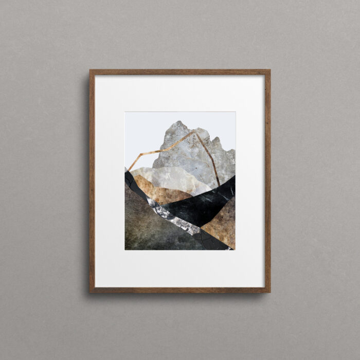 Awaken, mountain print